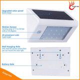 Indicatore luminoso esterno solare della parete del LED per la lampada dell'iarda della famiglia e del giardino LED