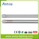 Lumière élevée de tube de la sortie DEL T8 de lumen avec la puce d'Epistar de l'état Lm80