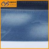 Ткань джинсовой ткани голубой черноты связанная для джинсыов