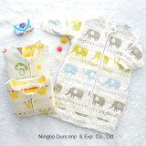 多彩で暖かい北極の羊毛の赤ん坊の寝袋の冬のベビーカーの赤ん坊