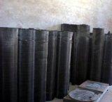 Los holandeses de China tejen el paño de acoplamiento tejido negro de alambre