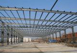 Полуфабрикат Corrugated пакгауз структуры тонколистовой стали металла/мастерская/сарай цыплятины