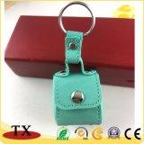 Creative personnalisé Mini sac chaîne de clés en cuir