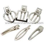 Clip di capelli d'argento di Pin di Bobby del metallo