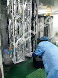 Máquina de revestimento plástica do salto PVD da sapata/máquina/planta de prata do chapeamento da cor do ouro