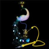 새로운 디자인 Shisha Narghile 고품질 Nargile 병 Hookah 유리제 연기가 나는 관 전자 담배 소형 전자 Cigarett Shisha Hookah 재떨이