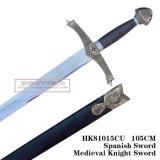オオカミの剣の中世剣のヨーロッパの剣105cm HK81015cu
