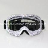 Óculos de proteção do motocross da impressão de transferência da alta qualidade