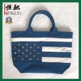 Le design de mode 16oz coton recyclé populaire Lady sac à main