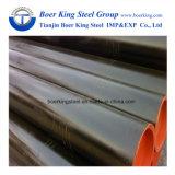 炭素鋼のオイル管またはガス管または配水管の信頼できる管の製造者のためのERWによって溶接される管の黒の管API 5L/ASTM A53の等級B