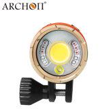 5000 Lumen Archon wm26-II de la vidéo de plongée Torche Lampe de poche LED avec Bty+chg