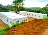 Ventas directas de la fábrica barato fáciles instalar 20 pies de la obra del emplazamiento de casa prefabricada del envase