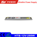 электропитание 12/24V 250W ультра тонкое СИД для светлой коробки