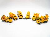 Un vehículo de ingeniería Pull-Back 6 Mezcla de nuevos juguetes
