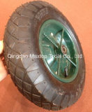 350-8 هوائيّة [وهيل برّوو] عجلة مطّاطة مع محور العجلة