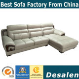 Beste Qualitätsbüro-Möbel L Form-Leder-Sofa (A843)