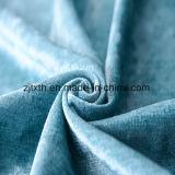 Shinning pelúcias tecidos de decoração para Home Produtos Têxteis