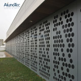 Pared de cortina de aluminio del revestimiento del panel de la resistencia a la corrosión