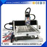Piccola macchina per incidere di legno di CNC del metallo 3D della Cina 6090