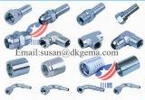 Adaptador hidráulico rosqueado T do conetor da mangueira do adaptador do adaptador do cotovelo do encaixe de tubulação do aço inoxidável