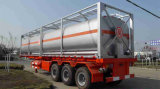 contenitore liquido di olio combustibile chimico del serbatoio di acciaio di iso di memoria di 40FT