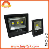 屋外の防水正方形のBk LEDの洪水ライト20W 30W 50W 70W 100W