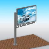 Lampadina esterna del tabellone per le affissioni di figura LED della bandierina che fa pubblicità alla visualizzazione