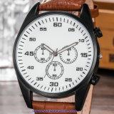 Orologio di modo della vigilanza del quarzo degli uomini su ordinazione di marchio per l'uomo (WY-17014C)