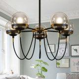 Eleganz 5 Lichter bronziert Leuchter-hängende Beleuchtung für Wohnzimmer