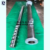 Шнек экструдера для обработки трубопровода LDPE цилиндра экструдера