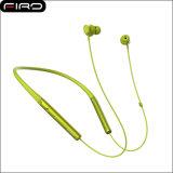 Écouteur sportif de Bluetooth de Neckband en gros avec l'aimant