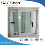 Finestra del cursore di PVC/Aluminium con il vetro di vetratura doppia