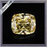De gele Synthetische Steen van het Zirkoon van de Diamant voor Ringen