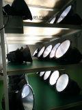 A dissipação de calor preto branco Shell 5000K, 6000K Gymnasium Travando Highbays 200W Luz High Bay LED Industrial