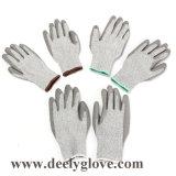 перчатки 13G Hppe с покрытием PU