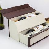 عادة طباعة رف ورق مقوّى [رسكلبل] ورق مقوّى شراب خمر يعبّئ صندوق
