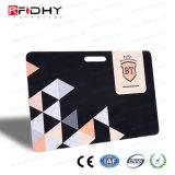 Cr80 Tamanho padrão do cartão de fidelidade em PVC RFID gravável