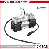 Inflador de neumáticos de 12V Batería de servicio pesado cilindro doble clip de metal Mini compresor de aire del coche bomba