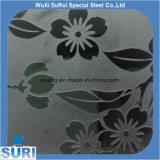 Het koudgewalste Decoratieve Spiegel Geëtstes Blad van Roestvrij staal 201 304