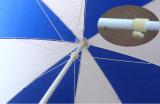 "Qualität passte Strand-Regenschirm des Regen-6 "" 8K an"