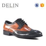 Новые поступления мужчин повседневный молодых платье из натуральной кожи обувь