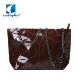 Sac à main cuir synthétique de la chaîne géométrique Crossbody Wallet Lady sac d'embrayage