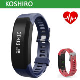 La venda impermeable del Wristband elegante IP67 Bluetooth de la pulsera para los deportes libera el examen