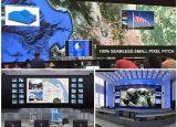 Écran de visualisation polychrome d'intérieur de HD P4 DEL