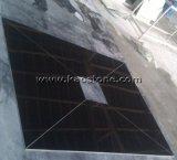 Polished/естественное плитка гранита Шани XI Китая совершенно черная для плакирования настила/стены