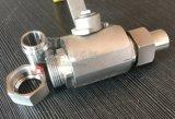 造られたステンレス鋼連合バット溶接Bw 1PCの球弁