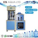 Die halb automatische Blasformen-Haustier-Flasche, die Gebläse bildet, führen die Herstellung der Flaschen-Maschine durch