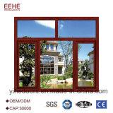 Portelli di alluminio dell'oscillazione bianca di colore e disegni di Windows