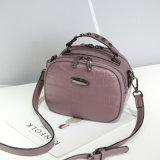 2017小さい円形袋船荷証券の女性の袋によって傾けられるショルダー・バッグの新しい潮ハンバージョン