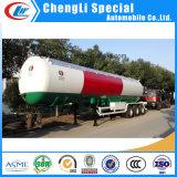 Dei 3 assi GPL del rimorchio GPL di gas del serbatoio rimorchio semi 45000 litri del combustibile di rimorchio dell'autocisterna